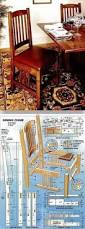 Morris Chair Plans Howtospecialist How by Dining Chair Plans Furniture Plans And Projects Woodarchivist