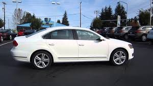 white volkswagen passat interior 2014 volkswagen passat candy white stock 109572 youtube