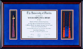 tassel frame ufdf017 deluxe diploma frames with cap tassel and 4 honor cords