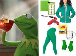 here s the truth tea kermit meme costume you need for halloween