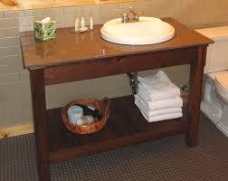 Open Shelf Bathroom Vanities Rustic Bathroom Vanities Unfinished Brightpulse Us