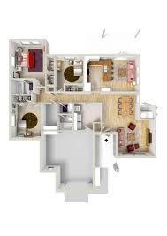 3 Bedroom Floor Plans by 3 Bed 2 Bath Apartment In Fort Knox Ky Knox Hills