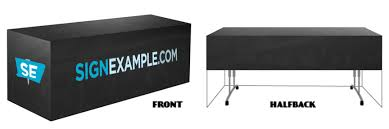 Table Skirts Fitted Table Skirts U2013 Signexample Com