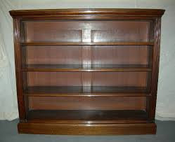 Bookshelf Antique Gloss Improvement Antique Mahogany Bookcase Late Victorian Open