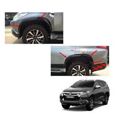mitsubishi mirage 2015 black for mitsubishi pajero montero sport fender flares wheel set black
