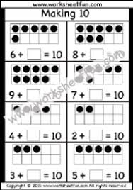 making 10 u2013 ways to make 10 u2013 2 worksheets free printable