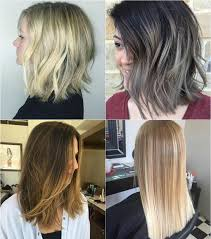 shoulder length hair with layers at bottom 80 sensational medium length haircuts for thick hair blunt cuts