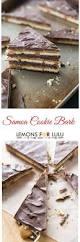 samoa cookie bark recipe chocolate shortbread cookies samoa