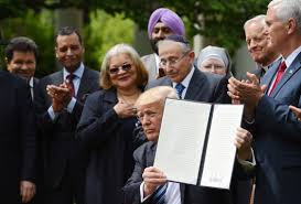 Donald Trump Houses Trump Signs Executive Order To Protect Religious Liberties Ktla