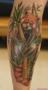 twei panda tattoo on arm tattoo viewer com