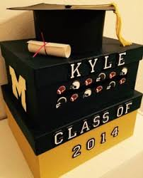 graduation money box graduation party card box with year grad s name and rhinestones