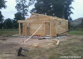Mini Homes For Sale by Why Log Cabin Kits Are Not Prefab Cowboy Log Homes