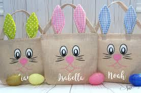 custom easter baskets for kids easter bag easter basket personalized easter bag custom