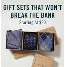 gift sets style boxes the tie bar