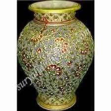 Design For Vase Painting Marble Vases Pot Exporter From Jaipur