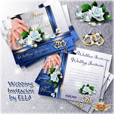 wedding invitations clipart for photoshop