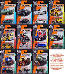 jeep matchbox awesome 2017 matchbox wave j u2013 all 11 vehicles vw golf new color
