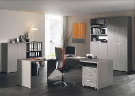 bureau complet ensemble de bureau contemporain coloris bouleau gris alrun ii