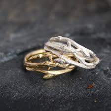natural wedding rings images Woodland branch twig wedding band or organic engagement ring jpg