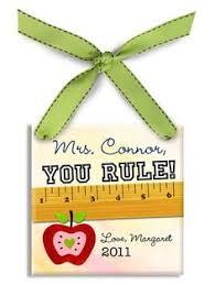 custom teacher ornament teacher christmas gift by mottolove