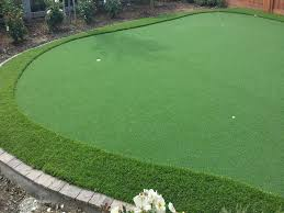 outdoor carpet boron california diy putting green backyard design