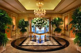 Luxury Lobby Design - bedroom awesome lobby design with luxury cahndelier and big