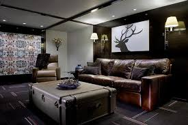 pleasing hand carved coffee table basement contemporary with