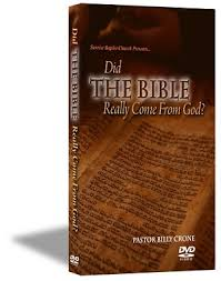 the bible really come from god
