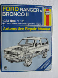 cheap bronco ii manual find bronco ii manual deals on line at