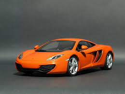 orange mclaren 1 18 autoart mclaren mp4 12c orange mclaren diecastxchange
