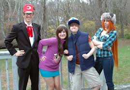 Mabel Dipper Halloween Costumes Gravity Falls Musketeersofcosplay Deviantart