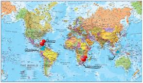 Rio On World Map Map World Rio Creatop Me Within On Grahamdennis Me