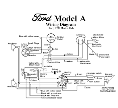 a ford wiring diagram model wiring diagrams instruction