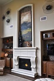 traditional corbels cast fire places