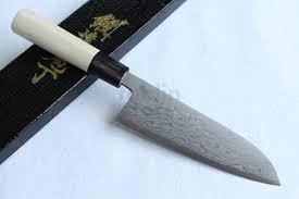 shigeki tanaka blue 2 steel suminagashi damascus hand forged