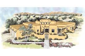 southwestern style house plans adobe southwestern style house plan 4 beds 3 5 baths 2966 sq