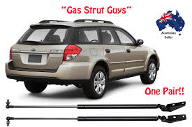 subaru outback lifted subaru outback 3rd generation 2003 to 2009 tailgate gas struts new