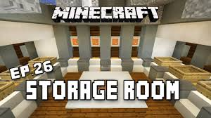minecraft tutorial boat and fishing pole storage room scarland
