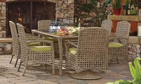 Klaussner Dining Room Furniture Klaussner Amure Complete Outdoor Dining Set The Dump America S