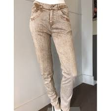 fred sabatier fred sabatier taupe washed jean