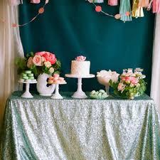 shop sequin tablecloths on wanelo