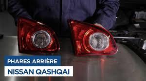 nissan qashqai rear light changer le feux arrière sur nissan qashqai youtube