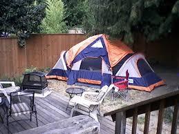 Backyard Camping Ideas Camping In The Backyard
