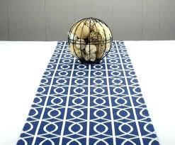 Navy Blue Runner Rug Blue Carpet Runner Mjex Co