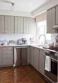 kitchen cabinets painted gray kitchens gray kitchen cabinets white subway tiles backsplash