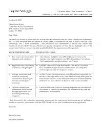 fire captain cover letter
