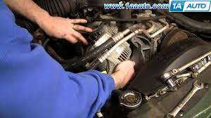 jeep durango 2008 how to install replace alternator dodge durango dakota 98 03
