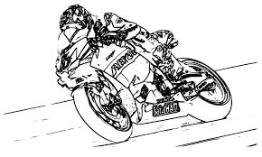 Coloriage Moto De Course à Imprimer Dessin Coloriage Moto Gp