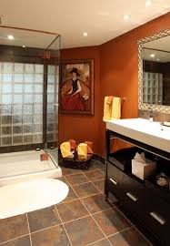 Bathroom Paint Schemes Best 25 Burnt Orange Bathrooms Ideas On Pinterest Orange