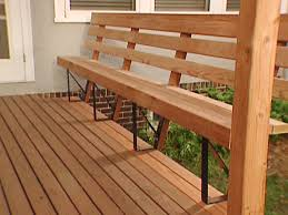Wooden Bench Seat Designs by Deck Bench Seat Ideas The Great Outdoors Pinterest Deck